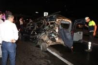 KÜÇÜKYALı - D-100 Karayolunda Feci Kaza Açıklaması1 Ölü 2 Yaralı