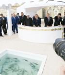 AZERBAYCAN CUMHURBAŞKANI - Hazar Zirvesi'ne Katılan Devlet Başkanları Hazar Denizi'ne Balık Bıraktı