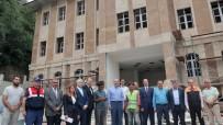 İçişleri  Bakanı Süleyman Soylu, Memleketi Trabzon'da Yapımı Süren Yatırımları İnceledi