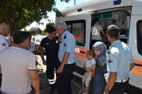 SEBZE HALİ - Otomobil Kamyonete Çarptı Açıklaması 1 Yaralı