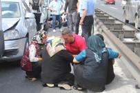 SEYRANTEPE - (Özel) FSM Köprüsü Girişinde 4 Araç Birbirine Girdi Açıklaması 4 Yaralı