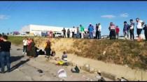 Piknikten Dönerken Trafik Kazası Yaptılar