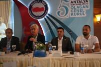 ATEŞ ÇEMBERİ - Sağlık-Sen Antalya Şubesi'nin 5.Olağan Genel Kurul Toplantısı