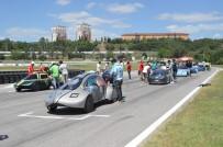 MEDYA KURULUŞLARI - Üniversite Öğrencileri Tasarladıkları Elektrikli Araçlarıyla Kıyasıya Yarıştı