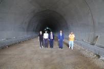TURAN YıLMAZ - Vali Tavlı, Gelibolu-Eceabat Tünellerinde İncelemelerde Bulundu