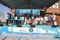 MEHMET PARLAK - Van Denizi Su Sporları Festivali Sona Erdi