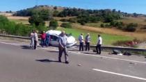 Anadolu Otoyolu'nda Trafik Kazası Açıklaması 2 Ölü, 4 Yaralı