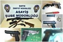 RUHSATSIZ SİLAH - Bartın Emniyetinden Ruhsatsız Silah Operasyonu
