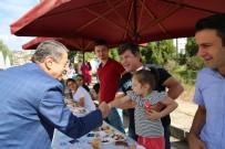 Başkan Akın Vatandaşlarla Buluştu