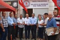 BELEDİYE MECLİS ÜYESİ - Başkan Alıcık Belediye-İş Sendikası Nazilli Temsilciliği'nin Açılışına Katıldı