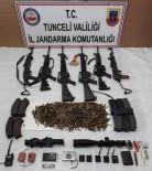 Etkisiz Hale Getirilen 10 Teröristin Silah Ve Mühimmatları Ele Geçirildi