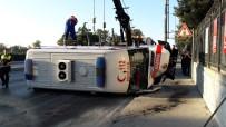 AMBULANS ŞOFÖRÜ - Hasta Almaya Giderken Hastanelik Oldular Açıklaması 3 Yaralı