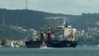 KARGO GEMİSİ - İstanbul'da  Arızalanan Kargo Gemisi Demir Attı