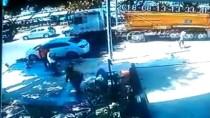 ALACAK VERECEK MESELESİ - Kadıköy'de Alacak Verecek Cinayetinde Önceki Ve Sonraki Anlar Kamerada