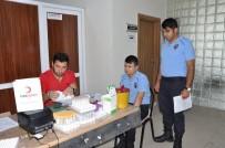 KAN BAĞıŞı - Kars Cezaevi Personelinden Kan Bağışı Etkinliği