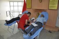 KAN BAĞıŞı - Kars Milli Eğitim Müdürlüğü'nden Kızılay'a Kan Bağışı