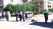 HAFRİYAT KAMYONU - Kocaeli'de, Hafriyat Kamyonunun Çarptığı Bisikletli Öldü