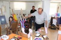 İNGILIZCE - Küçük Ressamlara Başkan Amcalarından Ziyaret
