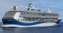 EFES - Kuşadası'nda Gemiyle 3 Bin Turist Geldi