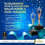 ÖDÜL TÖRENİ - Malatya Park'a Ödül Yağmuru