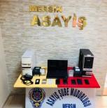 DİZÜSTÜ BİLGİSAYAR - Mersin'de Yasa Dışı Bahis Operasyonu