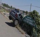 Otomobil Mezarlığa Uçtu Açıklaması 1 Yaralı