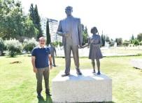 TAHAMMÜL - Saldırıya Uğrayan Atatürk Heykeli Onarıldı