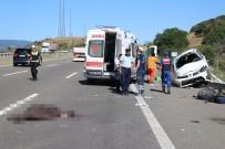 TEM Otoyolu'nda Feci Kaza Açıklaması 2 Ölü, 4 Yaralı