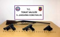 RUHSATSIZ SİLAH - Tokat Jandarmasından Ruhsatsız Silah Operasyonu