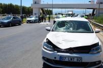 İNTIHAR - Üst Geçidi Kullanmayan Yaya Kazada Öldü