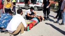 Yığılca'da Patpat İle Motosiklet Çarpıştı Açıklaması 2 Yaralı
