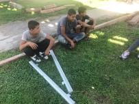 POLİS MERKEZİ - Alüminyum Profil Çalan 3 Çocuk Yakalandı