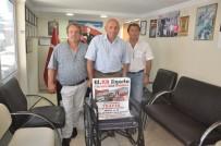 BAYRAM HEDİYESİ - Artvinliler'den Engelliler Derneğine Tekerlekli Sandalye Desteği