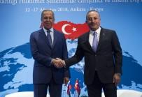 BÜYÜKELÇİLER KONFERANSI - Bakan Çavuşoğlu, Rus Mevkidaşı Lavrov İle Bir Araya Geldi