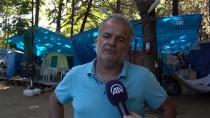 Bayram Tatili Sahildeki Çadır Kamplarını Da Doldurdu