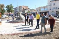 Belediye Başkan Vekili Sezgin, Yeni Yapılan Parkta İncelemelerde Bulundu