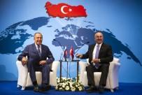 BÜYÜKELÇİLER KONFERANSI - Çavuşoğlu Lavrov'la Bir Araya Geldi