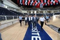 PAMUKKALE ÜNIVERSITESI - Denizli Basketboluna NBA Standartlarında Salon