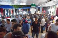 YAĞLI GÜREŞLER - Dursunbey'de Panayıra İlgi Yoğun Oldu
