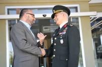 GARNİZON KOMUTANI - EDOK Komutanı Dalkıran'dan Üzülmez'e Emeklilik Ziyareti