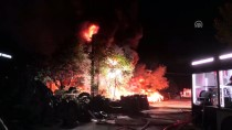 İş Yerinde Patlayan Tüpler Yangına Neden Oldu