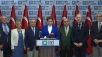 MERAL AKŞENER - İYİ Parti'den 'TBMM Toplansın' Çağrısı