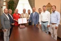 MUSTAFA HAKAN GÜVENÇER - Manisa'da Türk Kızılay İlkokulu Yapım Protokolü İmzalandı
