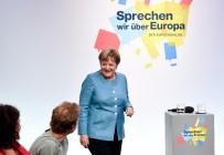ANGELA MERKEL - Merkel, Almanların AB Konusundaki Endişelerini Ve Beklentilerini Dinledi