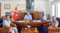 ULUDAĞ - Muhtar Adaylarından Başkan Atabay'a Ziyaret