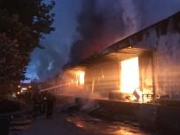 İTFAİYE ARACI - OSB İçindeki Dev Fabrika Alev Alev Yandı