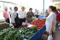 KıNıKLı - Pamukkale'de Pazar Yerleri Daha Güvenli Ve Düzenli