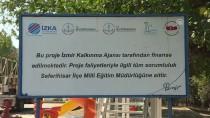 NESIM - Rehabilite Edilen Çocuklar Okul Onardı