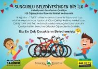 Sungurlu Belediyesi 100 Çocuğu Sevindirecek