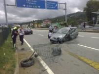 Trabzon'da Trafik Kazası Açıklaması 4 Yaralı